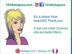 Dialogue 5 - English French Anglais Français - What is this / that? - Qu...