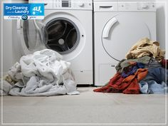 The sour smell that sometimes comes from laundry is often caused by mildew. Mildew forms on laundry when clothes are left in a warm, damp area such as the bottom of a laundry basket or in the washing machine. Mildew can damage fabric and the laundry may n
