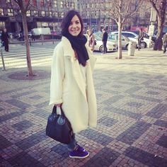 Stella Pardo Suri Alpaca coat and Givenchy bag #ootd