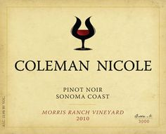 2010 Morris Ranch Vineyard.  Coleman Nicole wines are a favorite at our house.  :)