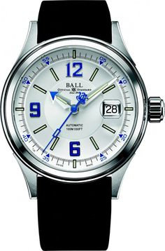 Ball Watch | Fireman Racer - Model NM2088C-P2J-WHBE