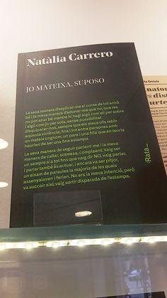 """""""Jo mateixa, suposo"""" de Natália Carrero. Rata."""