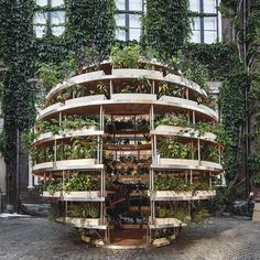 designed with architects mads-ulrik husum and sine lindholm, the multi-sensory pavilion aims to bring nature back into our cities.