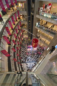 Shanghai, shopping mall