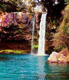 Cheonjiyeon Waterfall,Jeju Island, South Korea: