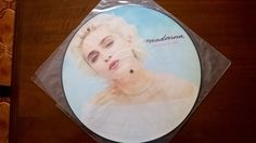 """Madonna The Look Of Love 12"""" PICTURE DISC W8115TP 920 836-0 Rebel Heart"""