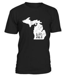 Michigan Cycling Apparel Cycling Shirt Cycling Gifts