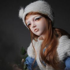 Dollmore-BJD-girl-1-2-Scale-105-cm-Trinity-Doll-Happy-Winter-Jude