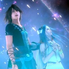 I am so glad the final incarnation of Yeul was allowed to be freed from her curse in the new world. After dutifully serving as the Seeress for countless incarnations and suffering the pain of lonliness, she deserved to be happy. And the rest of her incarnations will live with Caius in the other world, so that works out well too. Her final vision came true :)