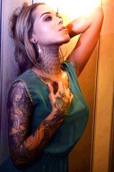 Free lick my tattooed body think