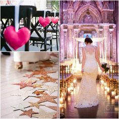 Creative aisle runner ideas!