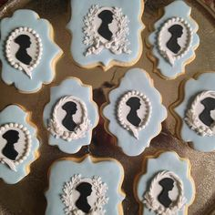 Jane Austen Cookies by Fabulously Floral Cakes Wedding Cakes Spalding Lincolnshire | A Jane Austen Birthday Cake