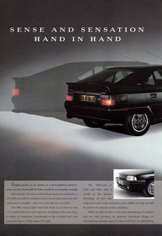 Citroen BX GTi 16v Lotus Elite, Fiat 850, Citroen Car, Aston Martin Db5, Audi Quattro, Ads, Advertising, Volvo, Peugeot