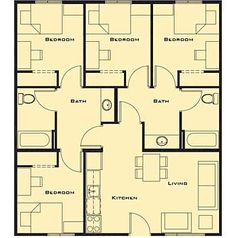small 4 bedroom house plans free home future students current students faculty staff patients - 4 Bedroom House Plans