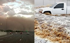Phoenix Hit With Massive Dust Storm, Followed By Wettest Day Ever Recorded