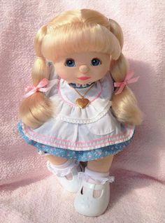 MY Child Doll Blonde U L Blue Eyes Pink Peach