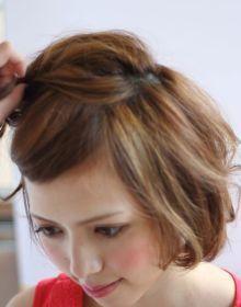 ショートヘアでも大丈夫♡浴衣に似合うカワイイ髪型アレンジ♡の20枚目の写真   マシマロ