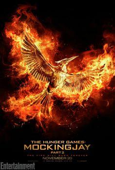 Hunger Games Mockingjay part 2 movie poster