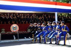 Desfile cívico-militar en la avenida Mariscal López de Asunción. Foto: Presidencia de la República