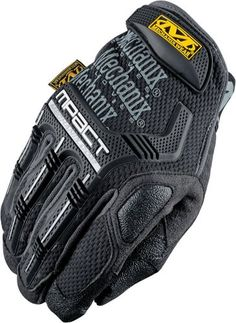 Mechanix Wear MPT-58-012 M-Pact Black XX-Large Gloves. Color: Blk/Grey. Trade Name: M-Pact. Variation: Size (XX Large). Rubberized grip on thumb, index finger and palm. Sale Unit: Pair. Double stitching and dual panels in critical wear areas. High impact Poron XRD absorbs more shock and vibration. Sonic welded molded rubber on knuckles and fingertips. Series: MPT-58. Glove Material: Synthetic Leather / Trekdry. Size: 2XL. Brand: Mechanix Wear. Item dimensions: weight: 30, width: 0,...