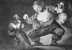 'Los disparates' Francisco Goya