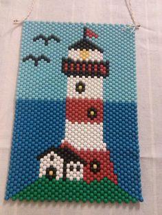 light house bead banner