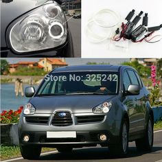 28.00$  Watch more here - http://aicoo.worlditems.win/all/product.php?id=32311673146 - For Subaru Tribeca B9 2006 2007 Excellent Quality CCFL Angel Eyes Ultrabright headlight illumination angel eyes kit Halo Ring