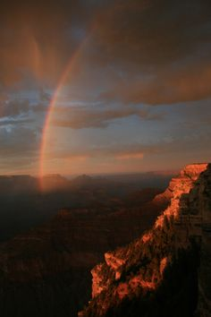 """""""I have set my rainbow in the clouds, and it will be the sign of the covenant between me and the earth."""" —Genesis 9:13"""