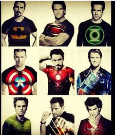 Superheroes everyone kniws I lobe my superhero men....no for real I take this very seriously!!!