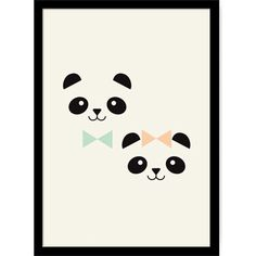 Affiche Monsieur et Miss Panda - Zu Panda Love, Cute Panda, Panda Wallpapers, Cute Wallpapers, Panda Nursery, Panda Painting, Panda Gifts, Panda Party, Creative Logo