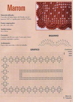 crochet - caminhos de mesa -runners - Raissa Tavares - Álbuns da web do Picasa                                                                                                                                                      Mais