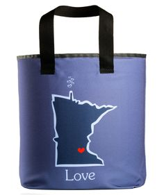 Take pride with our Minnesota love grocery bag. – Holds more than the standard size brown paper bag. Printed on both sides.