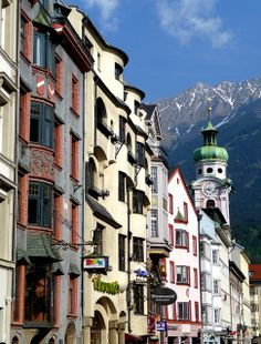 Innsbruck,Austria--i remember this. The rest of the world is so beautiful.