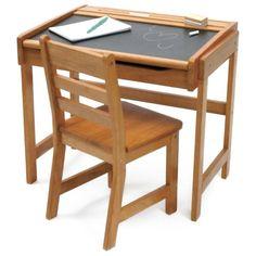 Child Chalkboard Desk Chair Set Kids School Furniture Table Home Study Wood for sale online Desk And Chair Set, Desk Set, Table And Chairs, Desk Chairs, Wood Table, Office Chairs, Room Chairs, Kids Playroom Furniture, School Furniture
