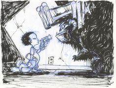 """""""Monster under the bed"""" by Skottie Young"""