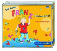 Anlässlich des 80. Geburtstags von Christine Nöstlinger ist die neue Franz-Hörbuchbox erschienen. Hörbuch Rezension von @juliliest