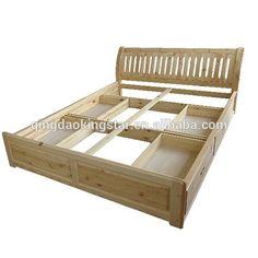 A buon mercato in legno massello letto matrimoniale con cassetti ks-db07- in Letto da Camera da letto mobili su m.italian.alibaba.com.