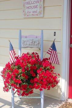 My front porch, Summer 2012 -- SRC