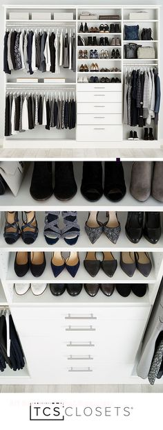 DIY Bedroom Closet Organizers
