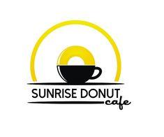 sunrise-donut-cafe-logo-design