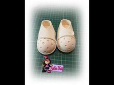 Tutorial zapatos fofucha enfermera - YouTube