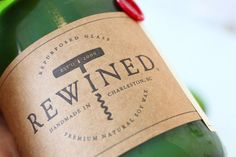 Rewined - Candles made from recycled wine bottles