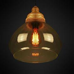 luces colgantes 1 luz moderno sencillo artística – USD $ 179.99