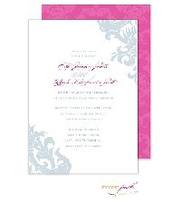 Product Name: Damask Wedding Invitation Brand: Modern Posh Product Type: Invitation Item Number: Stylin' Stix Studio Album - MP All Occasion Inexpensive Wedding Invitations, Grey Wedding Invitations, Inexpensive Wedding Venues, Wedding Programs, Wedding Budget Breakdown, Budget Wedding, Wedding Planning, Wedding Party Songs, Our Wedding