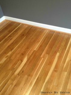 Dark chocolate stained hardwood floors been there Unstained hardwood floors