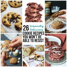 26 Insanely Delicious Cookie Recipes You Won't Be Able To Resist
