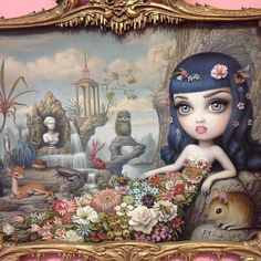 Mark Ryden- katy perry.. I love his pictures with in a picture