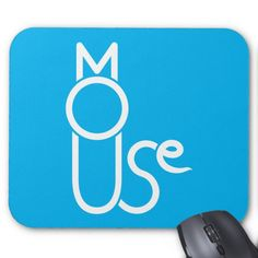 Cat And Mouse Puzzle Mousepad -  Cat and mouse puzzle mousepad. A cat made up from the letters in MOUSE.      ... #custom #print on demand art themed #gift #mousepad design by #ahapuzzles - #mousepad #cat #mouse #puzzle #creative #funny #cool