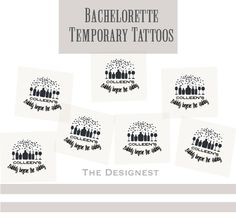 Bachelorette Tattoos | Bubbly before the Hubby