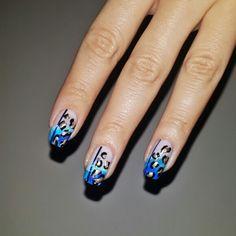 Blue leopar